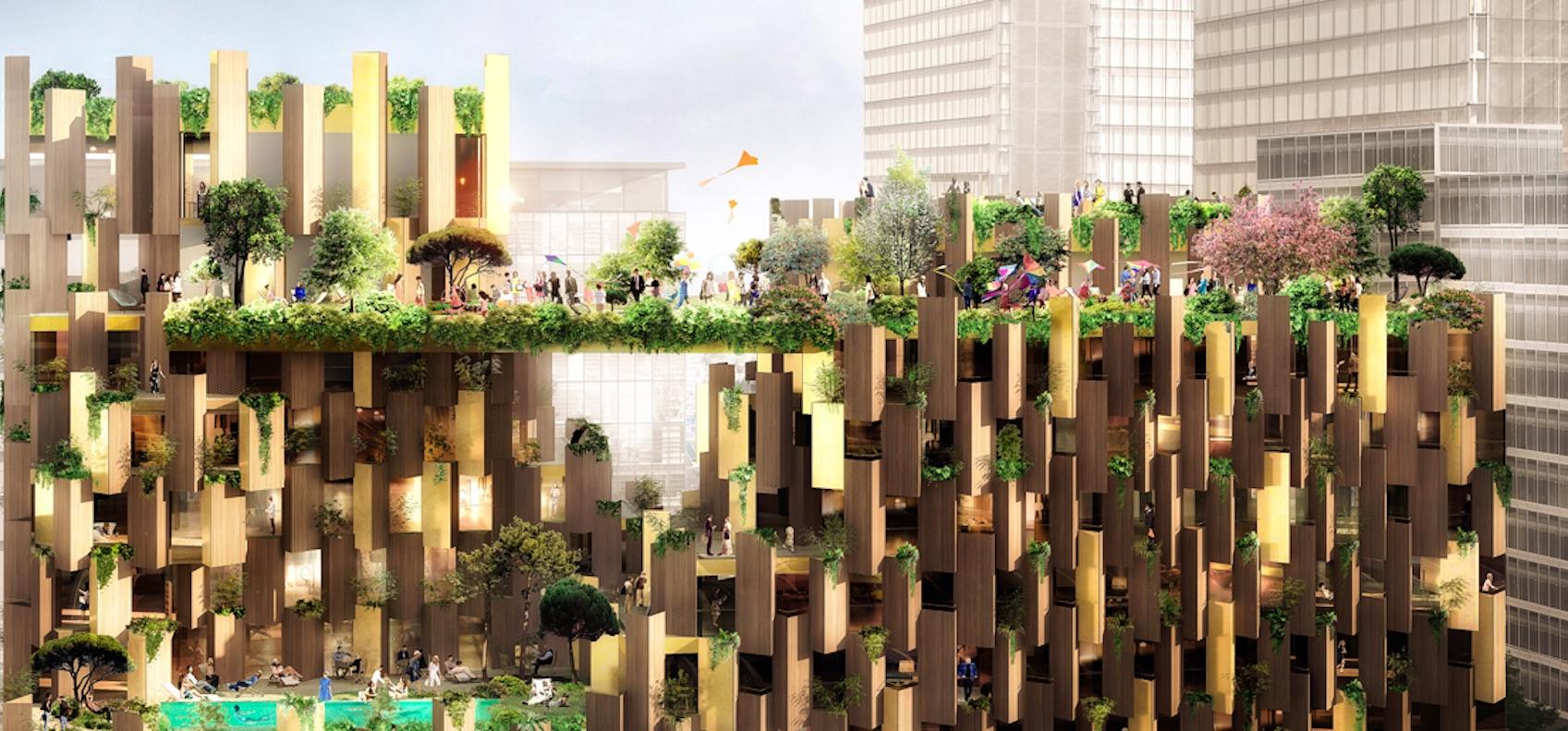 Architetto Di Giardini cubo e giardini verticali in alcuni esempi concreti di