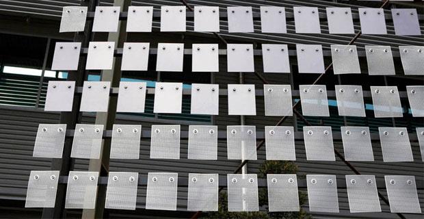 facciate tessili bioclimatiche negli edifici